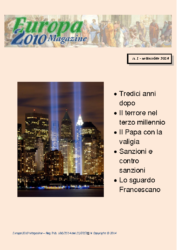 Europa2010 Magazine N.1