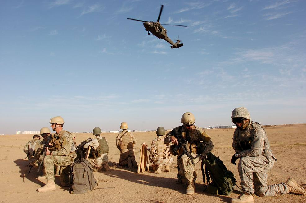"""""""Joint teamwork keeps foreign fighters from crossing borders"""" by The U.S. Army is licensed under CC BY 2.0"""