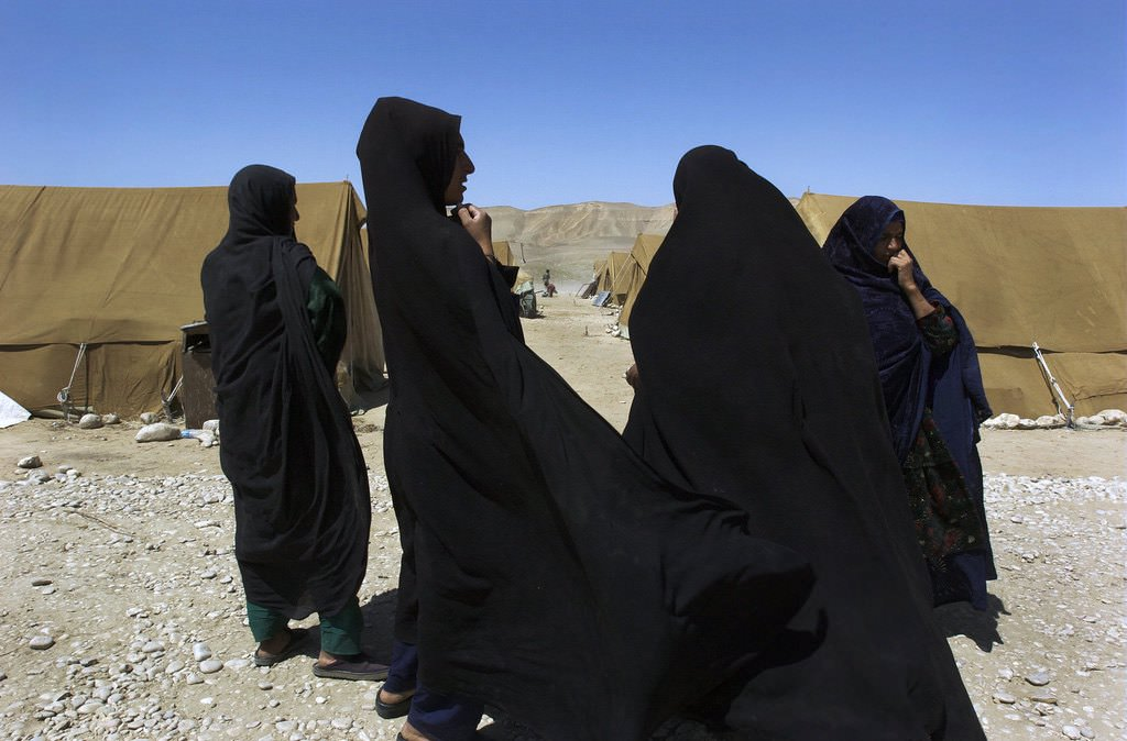 """""""Afghan Former Refugees at UNHCR Returnee Camp"""" by United Nations Photo is licensed under CC BY-NC-ND 2.0"""